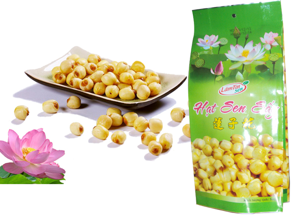 500g dried lotus seeds