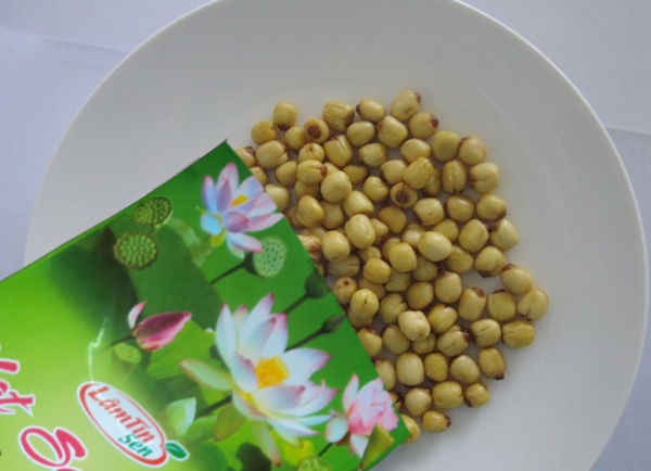 Dried lotus seed bag form